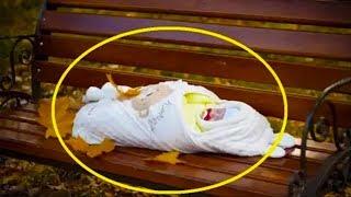 عثر على طفل في مقعد الحديقة ، وبعد عشر سنوات حدثت المعجزة