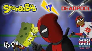 Spongebob vs Deadpool - Cartoon Beatbox Battles