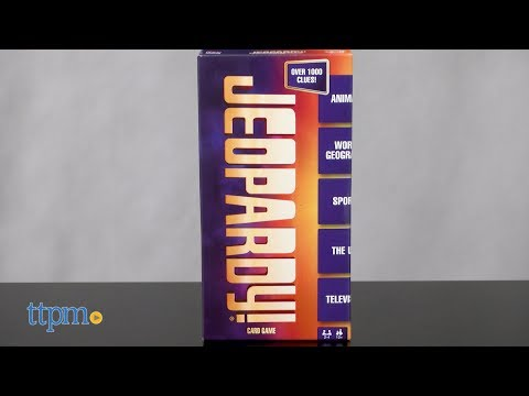 Jeopardy Card Game from Mattel