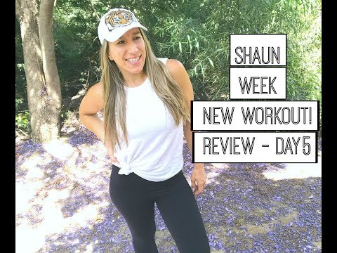 Shaun Week Day 5 Review