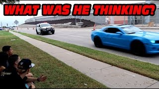 COP BLOCKS EXIT AT CARS AND COFFEE DALLAS OCTOBER!!!