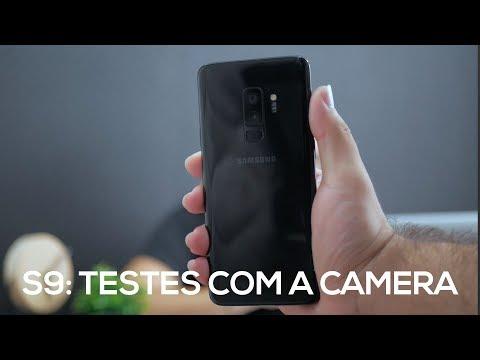 A CÂMERA DO GALAXY S9 É TUDO ISSO MESMO?!