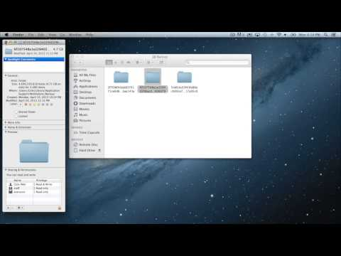 Mac Tutorial - How To Access iTunes Backups