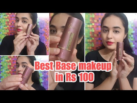 OLIVIA MAKEUP STICK REVIEW + DEMO / AFFORDABLE FOUNDATION IN INDIA