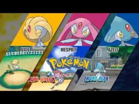 Pokemon omega ruby/alpha sapphire Vs. Uxie/Mesprit/Azelf theme