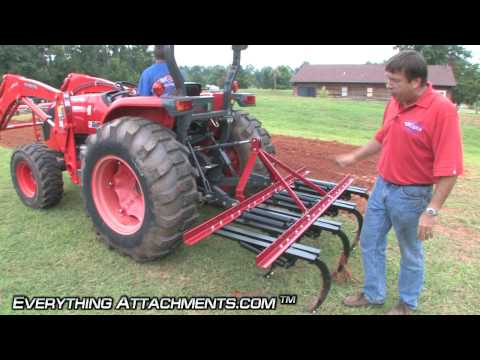 How to Use a Ripper / Field Cultivator - Gardening Series