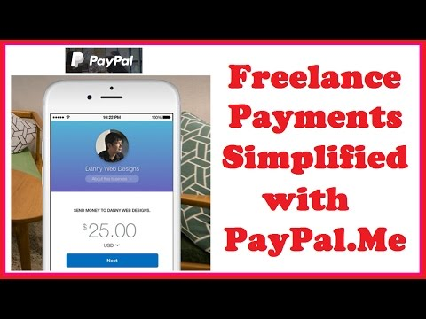 Freelance Payments Simplified with PayPal.Me