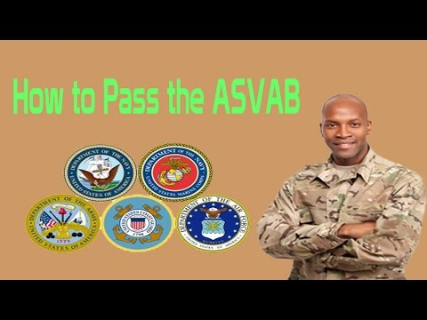 How To Pass The ASVAB