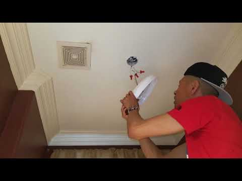 Installing SMART LED Motion Sensor Light Fixture + Remote! 5 20 18