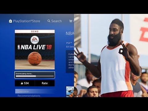 HOW TO DOWNLOAD NBA LIVE 18 DEMO EARLY! (PS4/XB1)