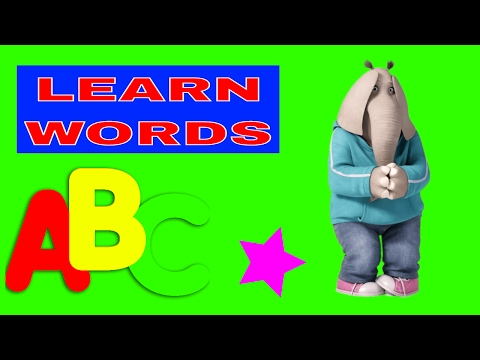 LEARN WORDS FOR TODDLERS WITH MEENA ELEPHANT | LEARN COLORS WITH SURPRISE EGGS
