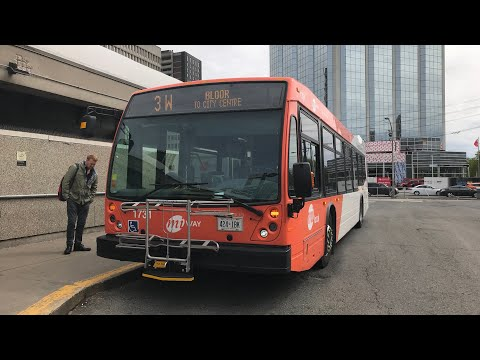 En Route: 1731 | MiWay route 3W Bloor | Subway to City Centre