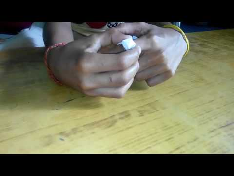 How to make a paper ring at home (HD)