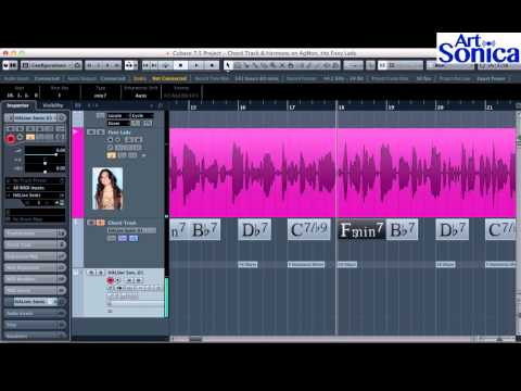 Chord Track & Backing Vocal Instan pada Cubase 7.5