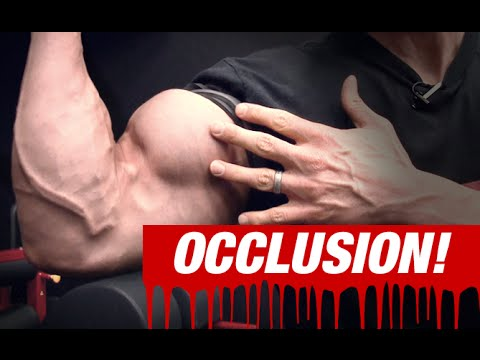 Occlusion Training for Biceps (SEE WHAT IT'S ALL ABOUT!)