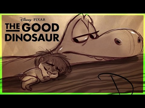 How to Draw The Good Dinosaur Part 1