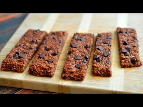 Vegan Chocolate Chip Breakfast Oatmeal Bars (Chewy)
