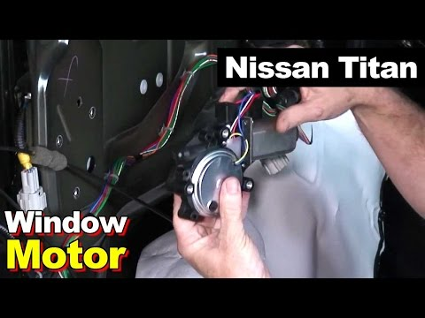 How To Replace Window Motor or Switch Nissan Titan (Also Reset The Limit Switch)