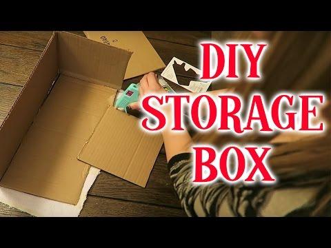 DIY STORAGE BOX!!!