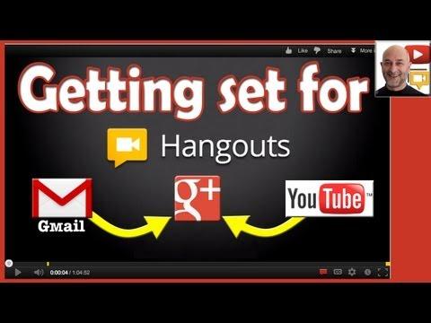 Account Setup for Google Plus Hangouts & HOA (Hangouts on Air)