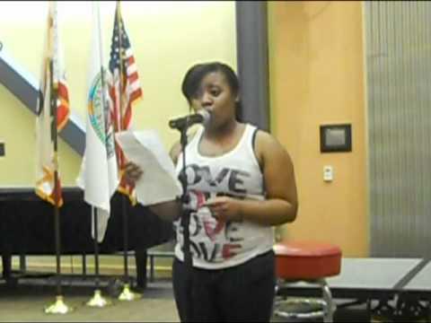 Ask Me Performed at CSUEB Poetry Slam