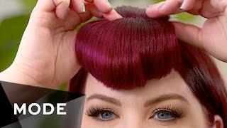 DIY Bangs   Hair Report ★ Glam.com