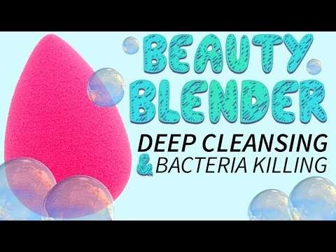 How To Clean Your Beauty Blender!