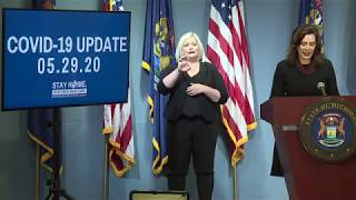 May 29, Governor Whitmer Press Conference