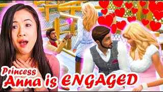 Princess Anna Gets Engaged | The Sims 4: The Royal Family | Part 52