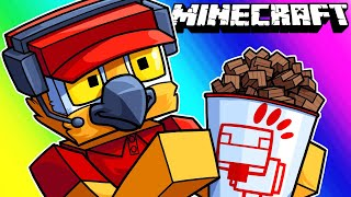 Minecraft Funny Moments - We Have a Chick-Fil-A Now! (Featuring Stairs)