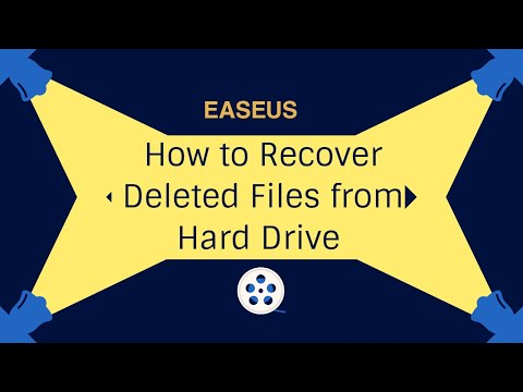 Recover Deleted Files and Folders from Hard Drive