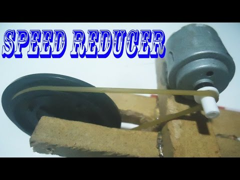 How to Speed Reducer | Motor (RPM) Gear Speed Reducer | Speed Can be Increased to Reduce the Power