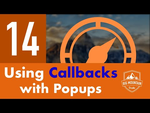 Callbacks with Popups - Part 14 - Itinerary App (iOS, Xcode 9, Swift 4)