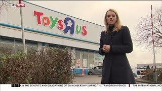 Toys R Us UK tables pension offer to stave off collapse - Rebecca Williams