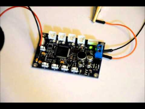 FINALLY!  The Stand Alone Voice Recognition Module - ES6928P Demo.wmv