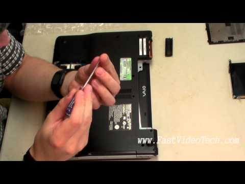 Sony Vaio DVD Drive Replacement