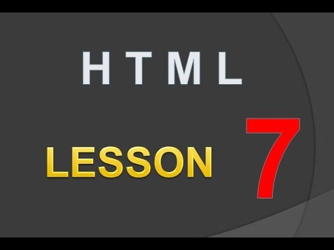 TTP | HTML | LE 07-How to use image as a hyperlink : linking documents, href,  img, src, anchor tag