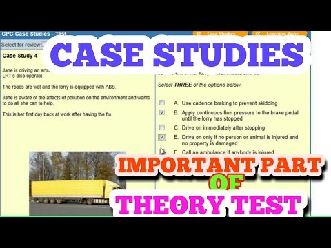 DRIVING  THEORY TEST   CASE STUDY 1n