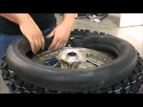 How To Remove A Dirt Bike Tire The Easy Way