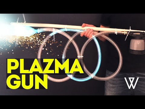 How to make plasma gun at home - DIY