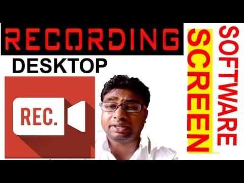 Free & Best Screen Recorder software for Desktop & Mobile !! How to Use