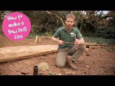 How to make a Bow Drill fire