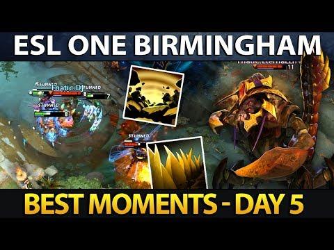 Best Moments ESL One Birmingham 2018 - Final Day Dota 2