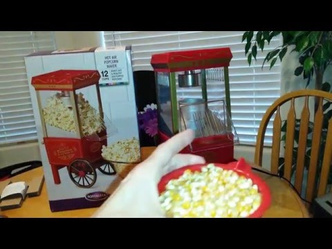 Nostalgia Air Popcorn Maker Machine