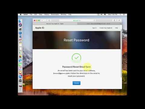 Reset Apple ID Password (iPhone, Macbook)