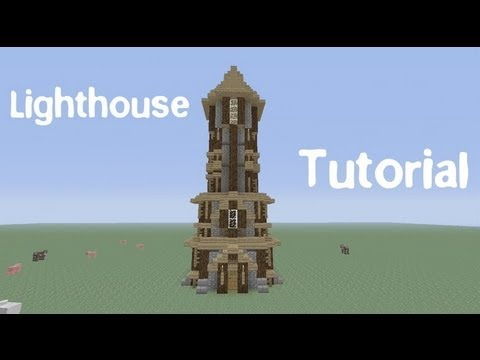 How to Build a Medieval Lighthouse in Minecraft