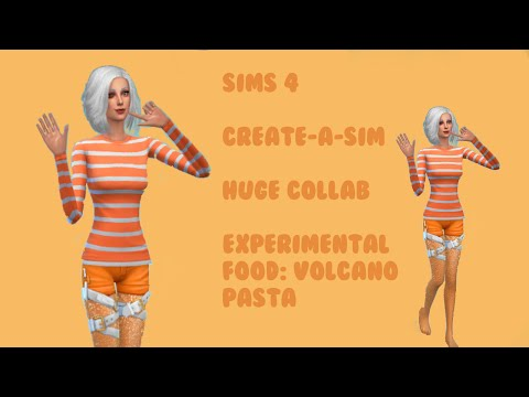 Sims 4: Create-a-Sim | Group Collab | Experimental Food