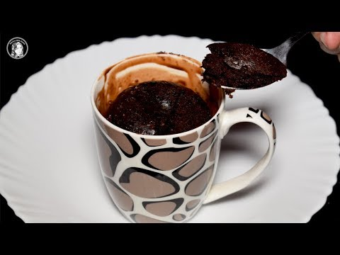 Chocolate Mug Cake Without Microwave Oven - Simple Chocolate Mug Cake Recipe