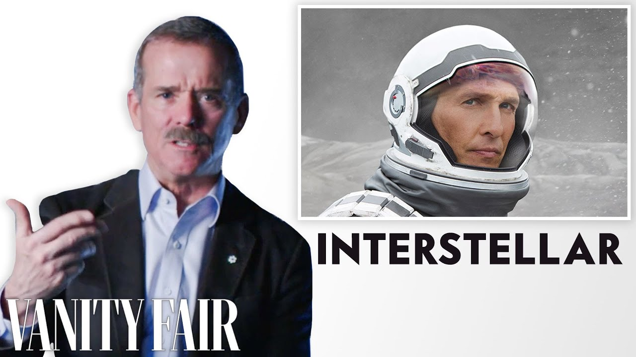 Astronaut Chris Hadfield Reviews Space Movies, from 'Gravity' to 'Interstellar' | Vanity Fair