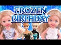 Barbie The Twins Frozen Birthday Ep186
